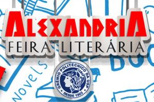 logotipo da feira literária Alexandria do Grêmio Politécnico