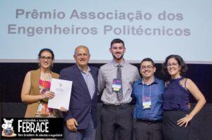 Prêmio Associação dos Engenheiros Politécnicos na Febrace 2019